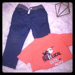 👣Matching Set Boy 24 mos/2t 👣